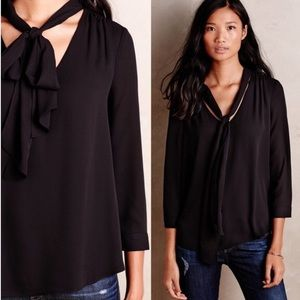 Anthropologie HD in Paris Bow Blouse